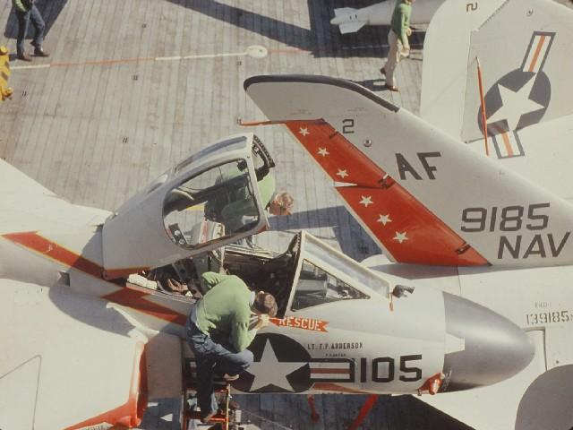 F4d Skyray close cockpit | Robert E. Lynn